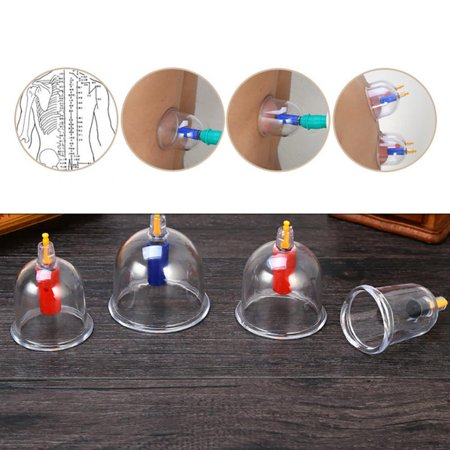 Garosa 24pcs ventouses thérapie ensemble ventouses ensemble avec aimants de pompe à vide thérapie de ventouses biomagnétique tasse acupuncture ventouses équipement de thérapie massage TCM - image 5 de 9