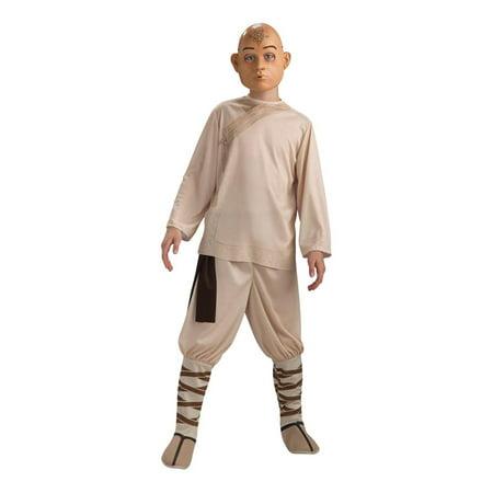 The Last Airbender Aang Costume Child Medium (Avatar The Last Airbender Halloween Costume)