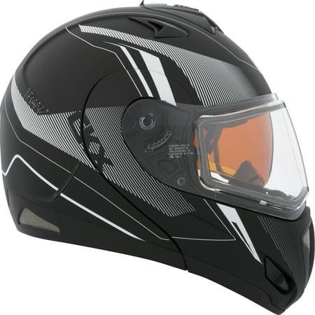 Double Helmet - CKX Rech Tranz RSV - Modular Helmet, Winter Electric Double Shield