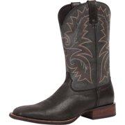 "Durango Western Boots Mens 12"" Graphite Stockman Square Black DWDB020"