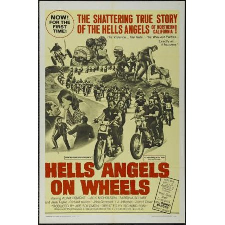 - Hells Angels On Wheels Movie Poster 11x17 Mini Poster