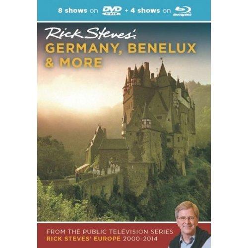Rick Steves: Germany, Benelux & More 2013-2014 (DVD & Blu-ray Combo)