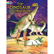 Dover Coloring Book, Dinosaurs