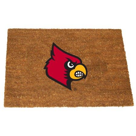 Louisville Football Rug - Memory Company NCAA DOOR MAT LOUISVILLE