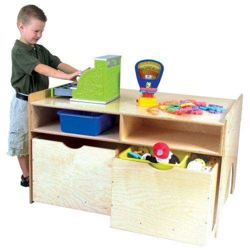 Wood Designs Store N Play Table