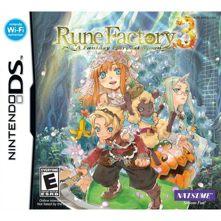 RUNE FACTORY 3: A FANTASY HARVEST MOON ENG ONLY NDS - Harvest Moon Ball