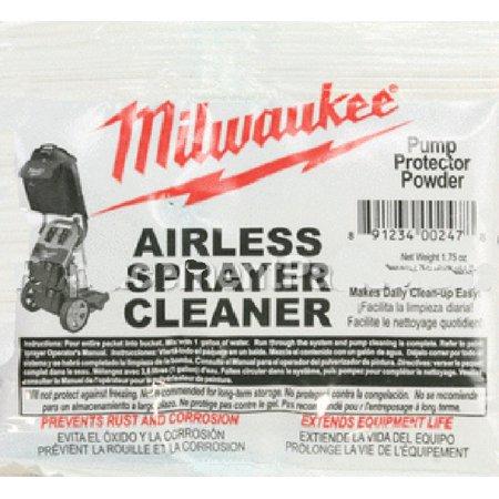 Milwaukee M4910-10 Paint Sprayer Airless Cleaning Powder # (Milwaukee Airless Paint Sprayer M4910 10 Price)