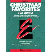 Essential Elements Christmas Favorites for Strings : Value Pack (24 Part Books, Conductor Score and CD)