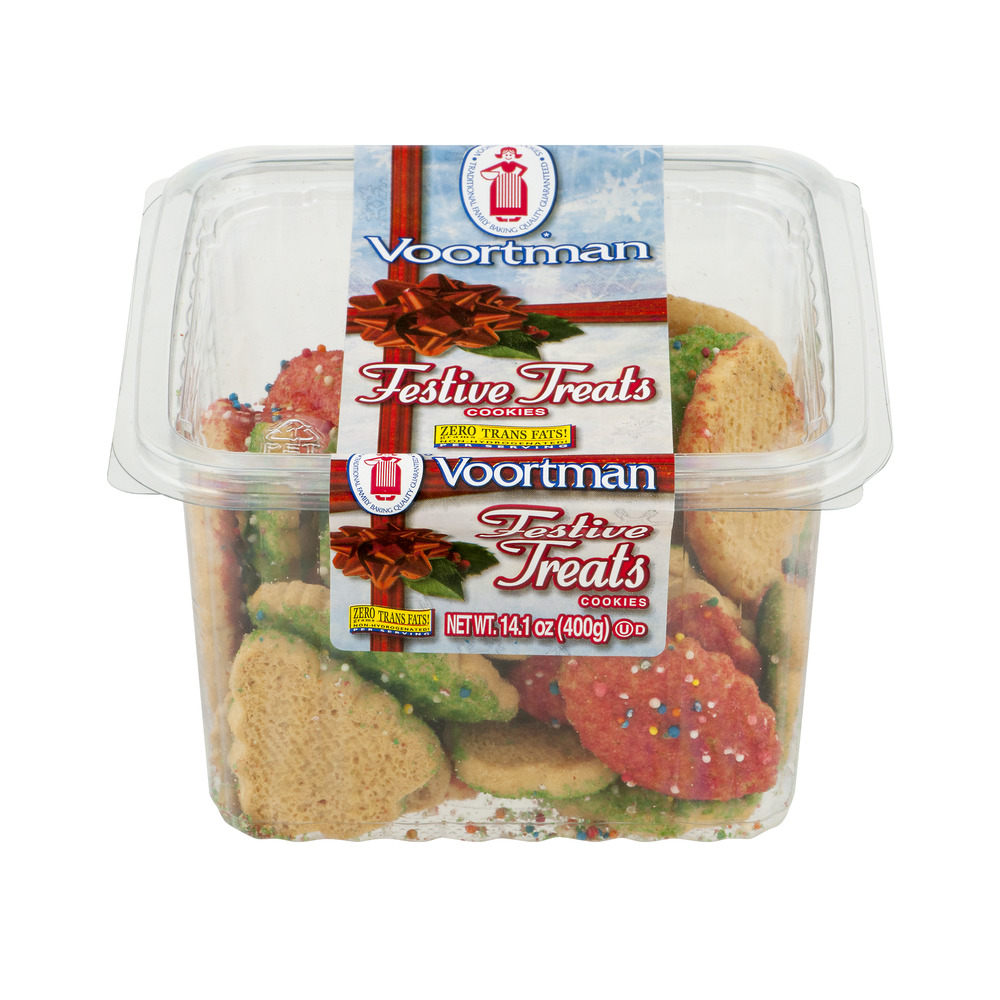 Voortman Festive Treats Cookies, 14.1 Oz