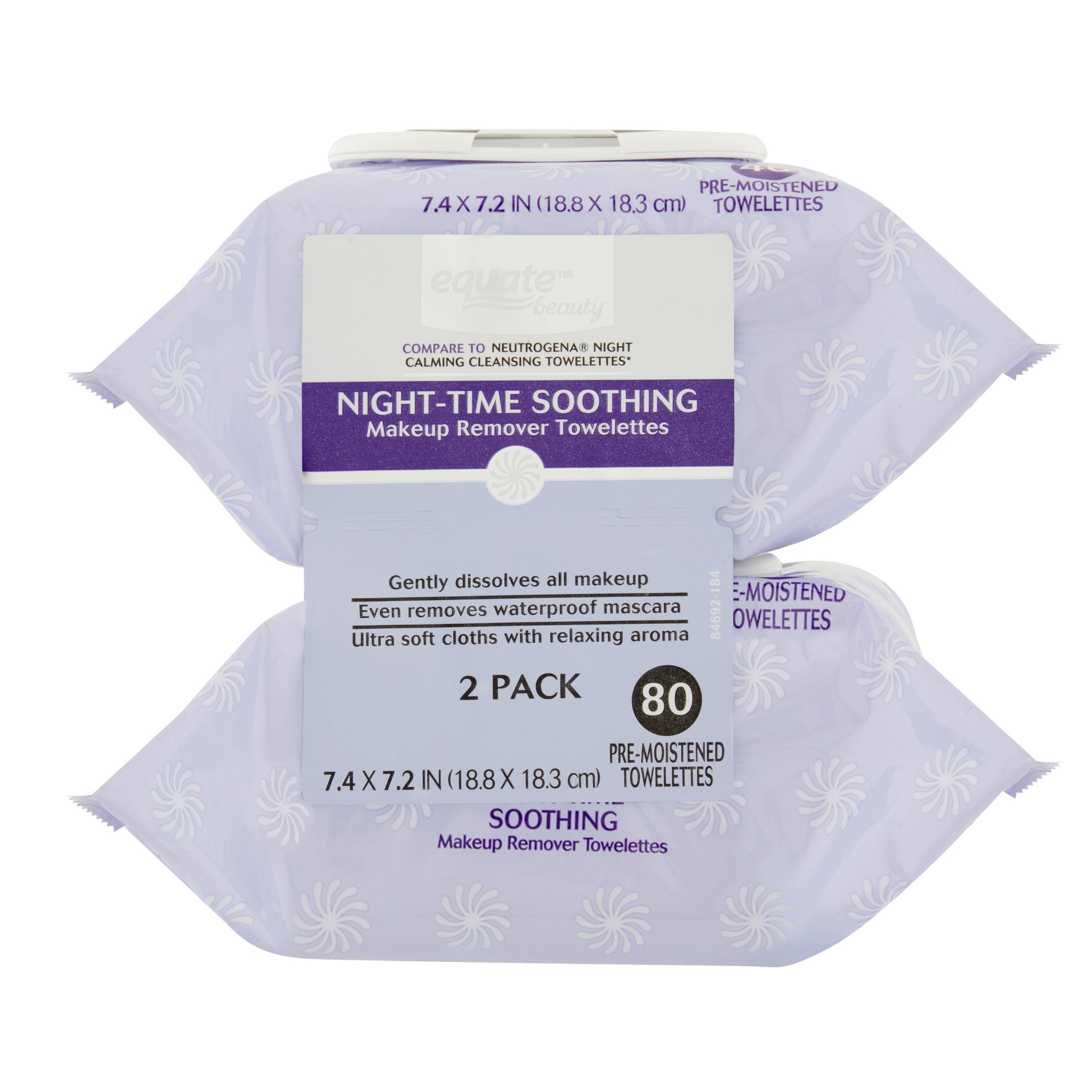 Makeup Removal Pre-Wet Towelettes Rose Water - 30 Towelette(s) (pack of 3) 30-Seconds Lift Eye Wrinkle Remover