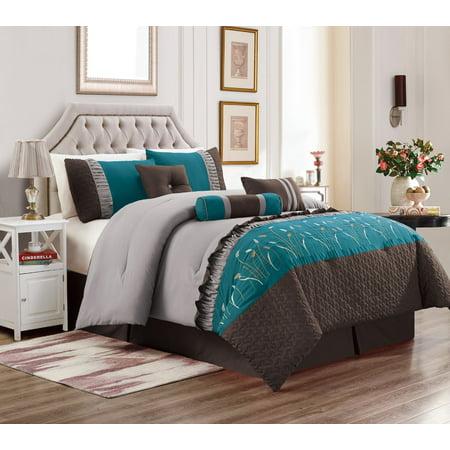 7 Piece Marcia Patchwork Bed In A Bag Comforter Set