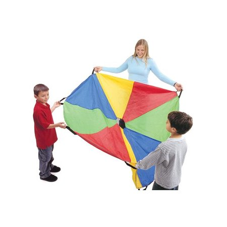 Excellerations Brawny Tough Rainbow Parachute - 12'Dia. (Item # P12)