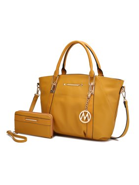 MKF Collection Darielle Satchel Bag with Wallet by Mia K.
