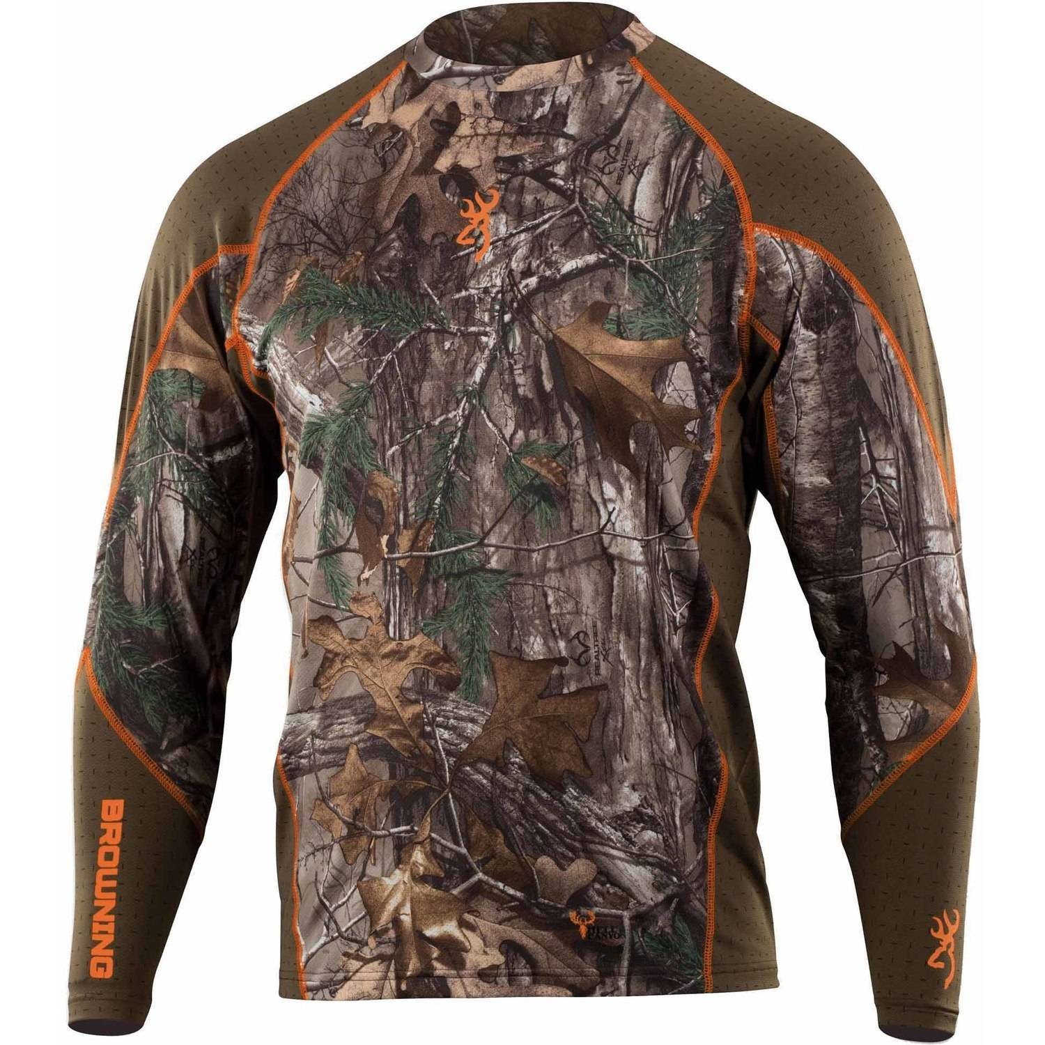 Browning HC Crew Base Layer (L)- RTX by Browning