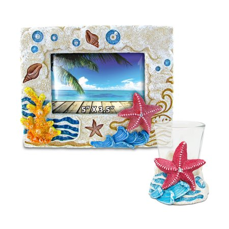 Puzzled Starfish Resin Stone Finish Collection including Picture/Photo - Resin Starfish