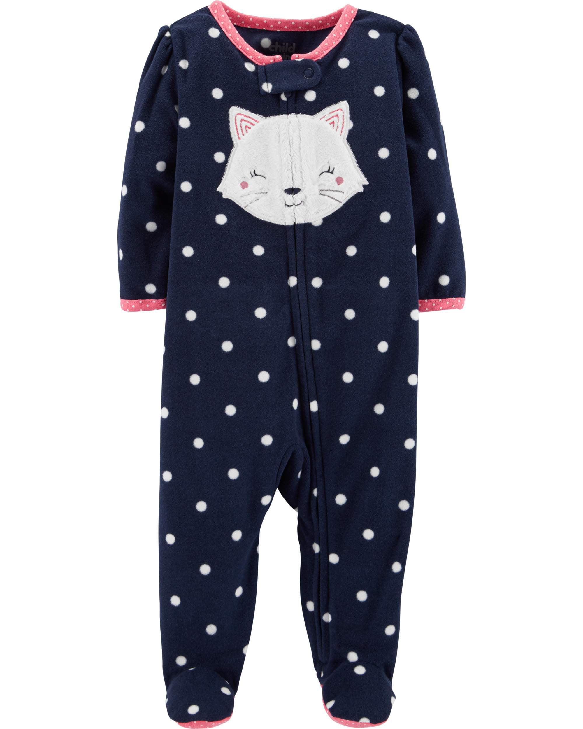 Child of Mine by Carter's Sleep N' Play Pajamas (Baby Girls)