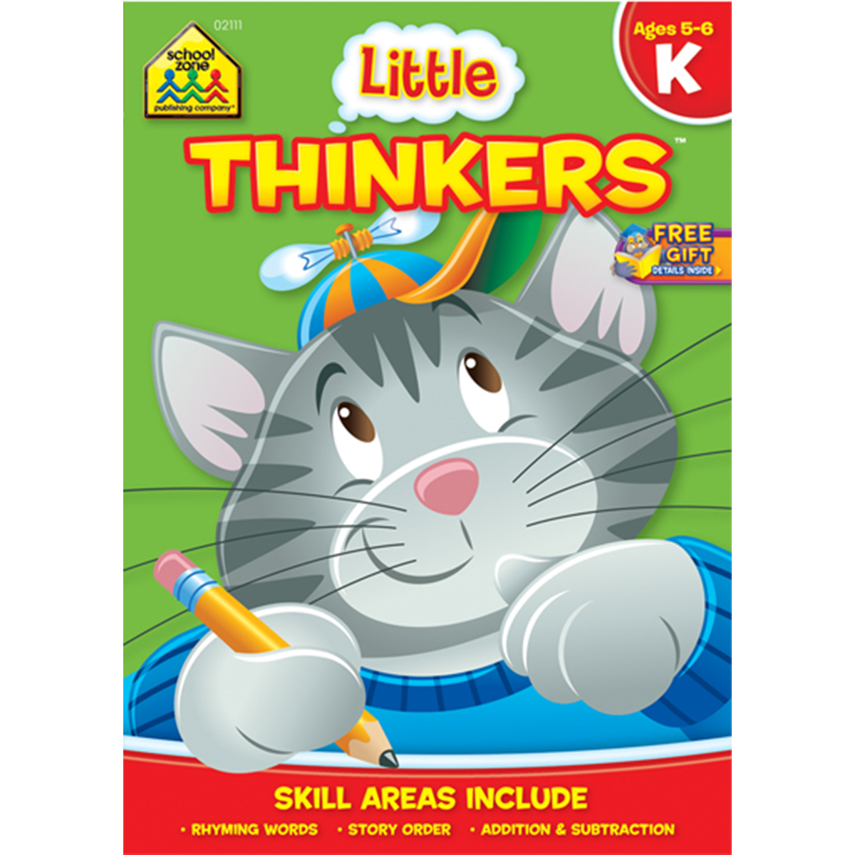Workbook-little Thinkers - Grade K