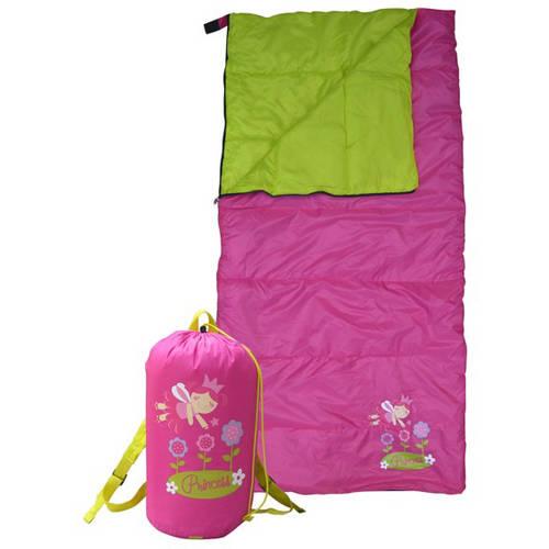 GigaTent Cozy Cuddler Kids' Sleeping Bag, Flower