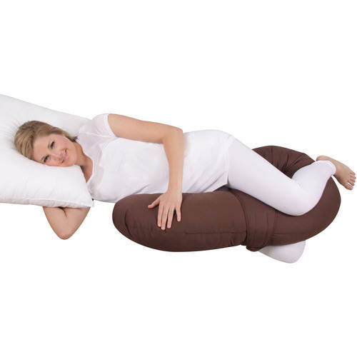 Leachco Materna Comfort Air-Flow Body Pillow, Chevron Mint