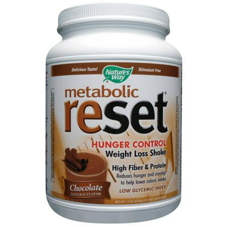 Nature's Way Metabolic Reset Hunger Control Shake, 1.4 LB