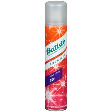 Batiste Dry Shampoo, Neon Fragrance, 6.73 fl. oz.