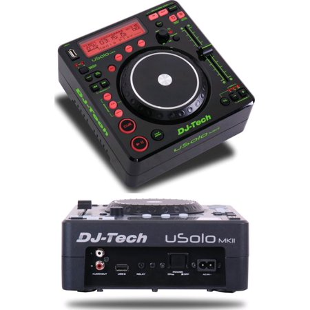 Dj Mixing Station (Dj Tech USOLOMKII Table Top Mp3 Dj Station & Scratch Effects - 2usb Input & 100% Pitch [ Mat Or Hg Finish ])