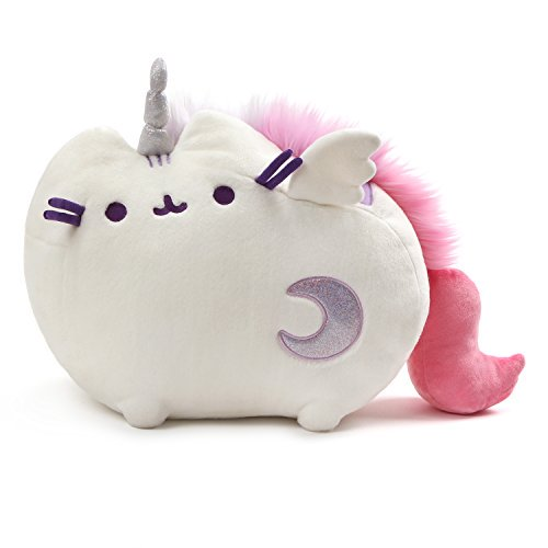 7bcf2ea0a Gund Super Pusheenicorn Stuffed Pusheen Plush Sound and Lights Unicorn  Animal Toy - Walmart.com