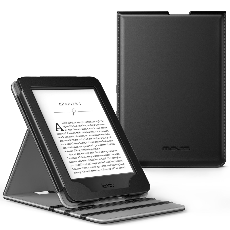MoKo Case for Kindle Paperwhite, Premium Vertical Flip Co...