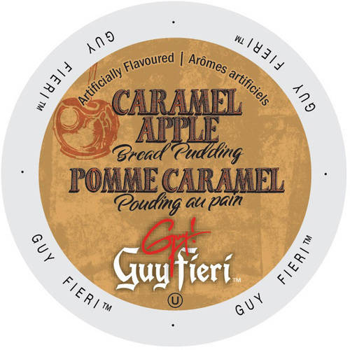Guy Fieri Caramel Apple Bread Pudding Coffee K-Cups, 24 count