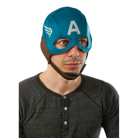 Retro Captain America Adult Mask - Captian America Mask