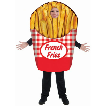Bichon Frise Halloween Costumes (Halloween French Fries - Child)
