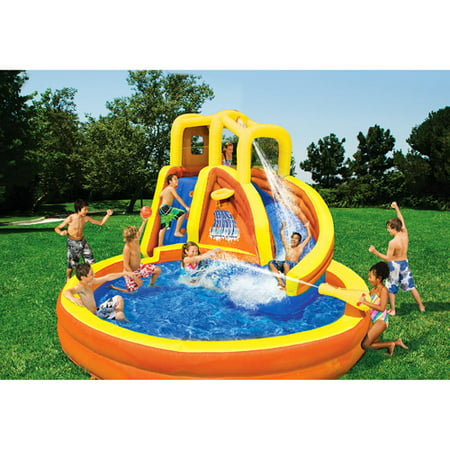 Free 2-day shipping. Buy Little Tikes Rocky Mountain River Race Inflatable Water Slide at auctionsales.tk
