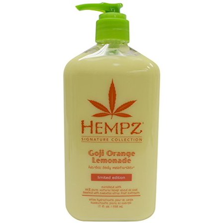 100% Hemp (Herbal Body Moisturizer with 100% Pure Hemp Seed Oil - 17oz -)