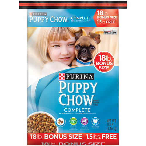 Purina Puppy Chow Complete Chicken Flavor, 18.0 LB