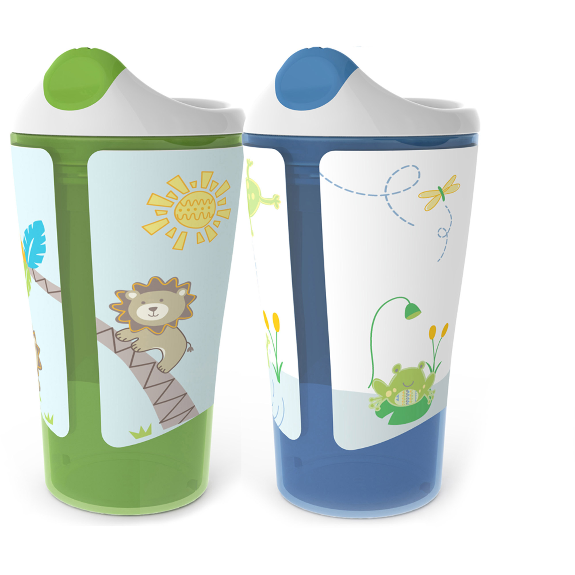 Born Free 10 oz Sippy Cup, BPA-Free, 2-Pack