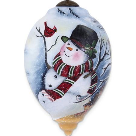 Ne'Qwa Susan Winget Frosty's Woodland Friends Ornament - Ne Qwa Halloween Ornaments