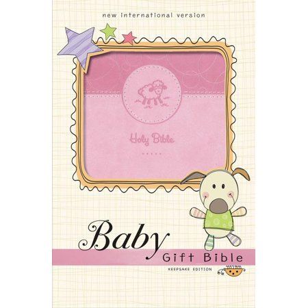 Niv, Baby Gift Bible, Holy Bible, Leathersoft, Blue, Red Letter Edition, Comfort Print : Keepsake (Examples Of The Gifts Of The Holy Spirit)