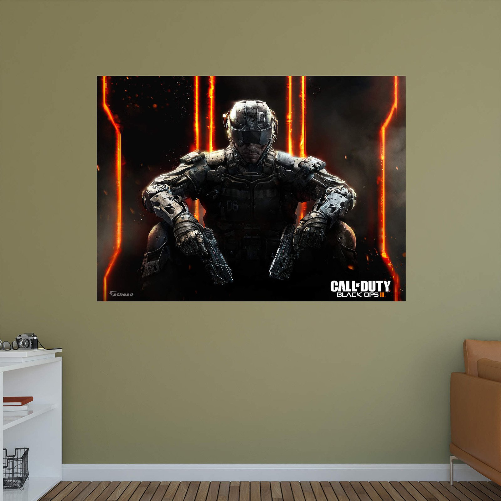 Fathead Call Of Duty Black Ops 3 Wall Mural