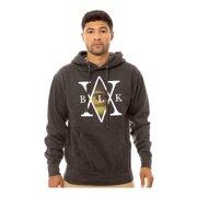 Black Scale Mens The Mona's Traditional Hoodie Sweatshirt