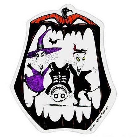 Car Magnet - Nightmare Before Christmas - Lock Shock Barrel New Toys 21564](The Nightmare Before Christmas Car Accessories)