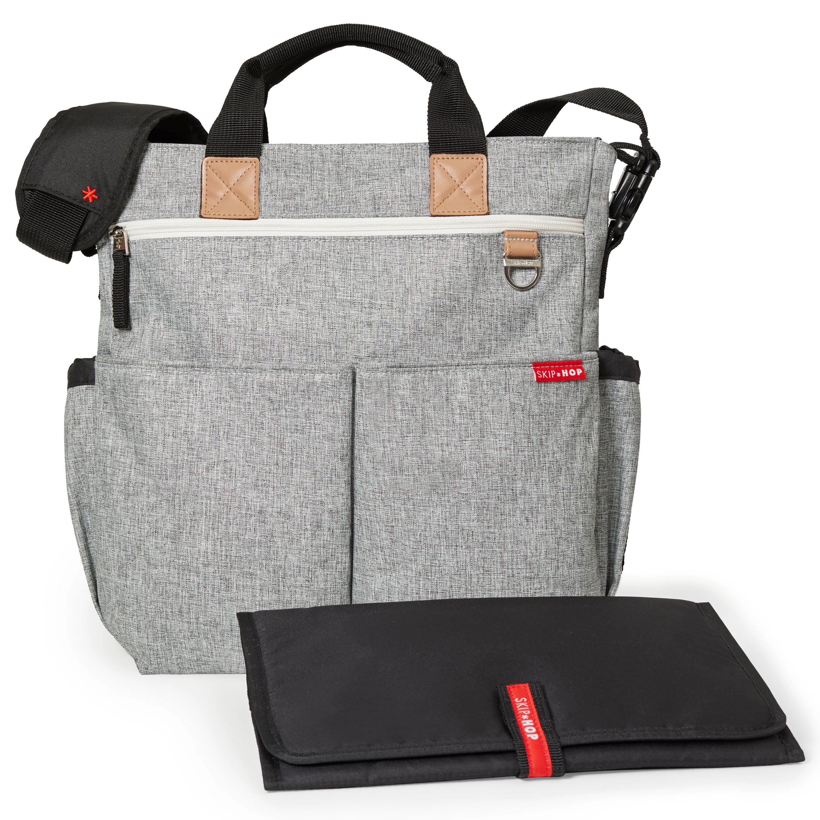 Skip Hop Duo Signature Diaper Bag, Grey Melange by Skip Hop