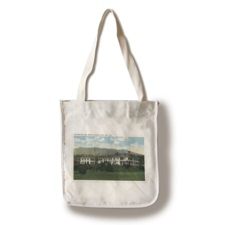 Bretton Woods  New Hampshire   Exterior View Of The Bretton Arms   2  100  Cotton Tote Bag   Reusable