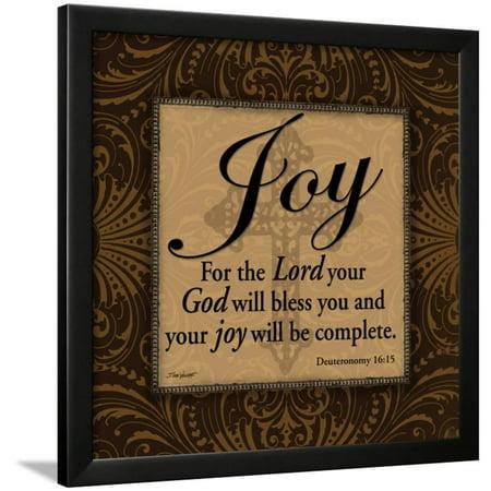 Joy Framed Print Wall Art By Todd Williams ()