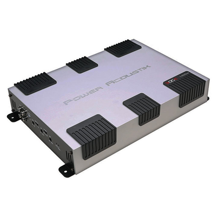 Power Acoustik EG2-1400 Edge Series Full-Range Class AB Amp, 2 Channels, 1,400 Watts
