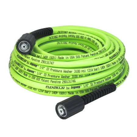 Flexzilla® Pressure Washer Hose, 1/4