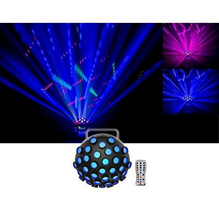 Chauvet DJ Line Dancer DMX Rotating Dance Floor Party Effect Light+IRC Remote - Dance Floor Giveaways