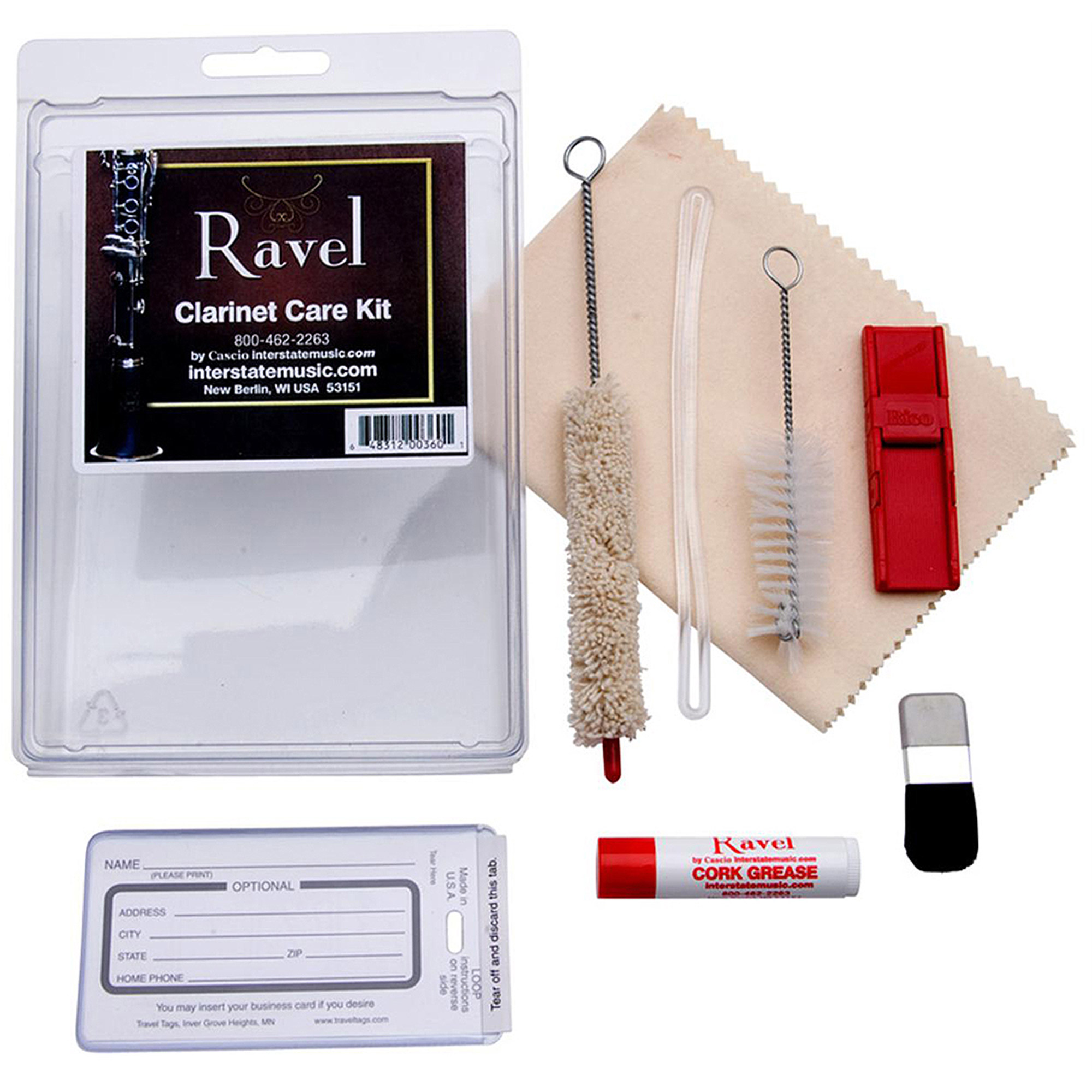 Ravel OP340, Clarinet Care Kit