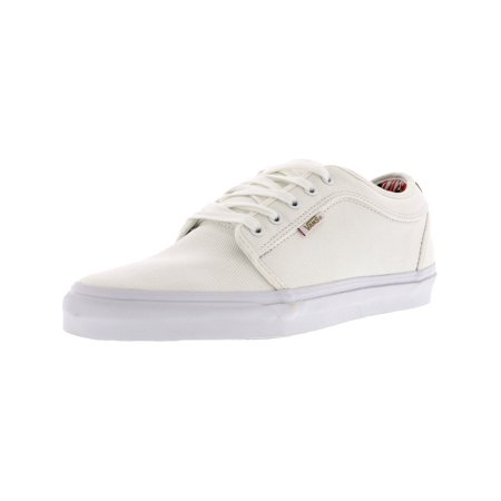 ecb2ed0acc1 Vans - Vans Men s Chukka Low Aloha White Twill Ankle-High Fabric  Skateboarding Shoe - 11M - Walmart.com