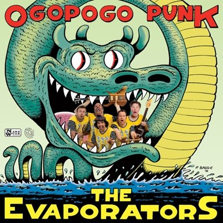 Ogopogo Punk (Vinyl) - Halloween Punk Rock Music
