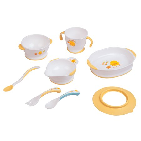 Piyo Piyo Pink Training Tableware